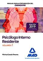 Portada del libro 9788414230695 Psicólogos Internos Residentes. Manual de Preparación para el Examen PIR, Vol. 1