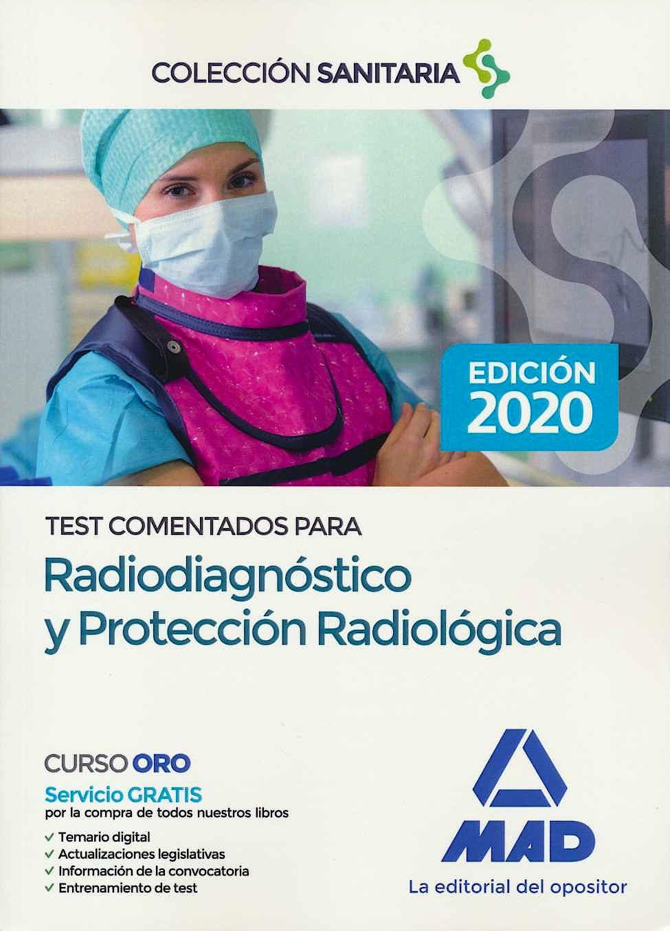 Portada del libro 9788414232507 Test Comentados para Radiodiagnóstico y Protección Radiológica