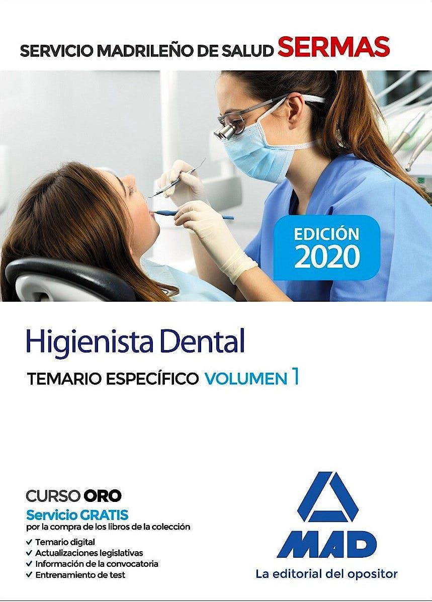 Portada del libro 9788414237328 Higienista Dental Servicio Madrileño de Salud (SERMAS). Temario Específico, Vol. 1