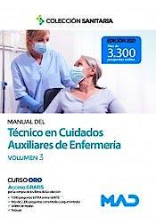 Portada del libro 9788414242759 Manual del Técnico en Cuidados Auxiliares de Enfermería, Vol. 3