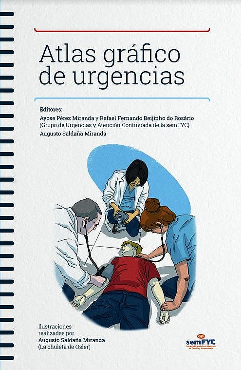 Portada del libro 9788415037668 Atlas Gráfico de Urgencias