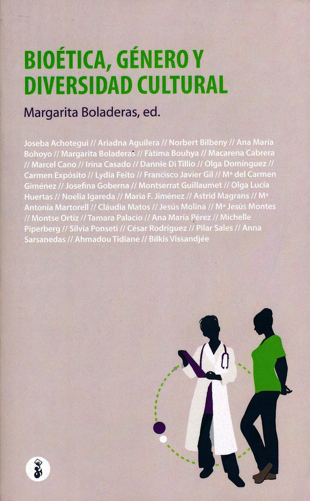 Portada del libro 9788415047810 Bioética, Género y Diversidad Cultural