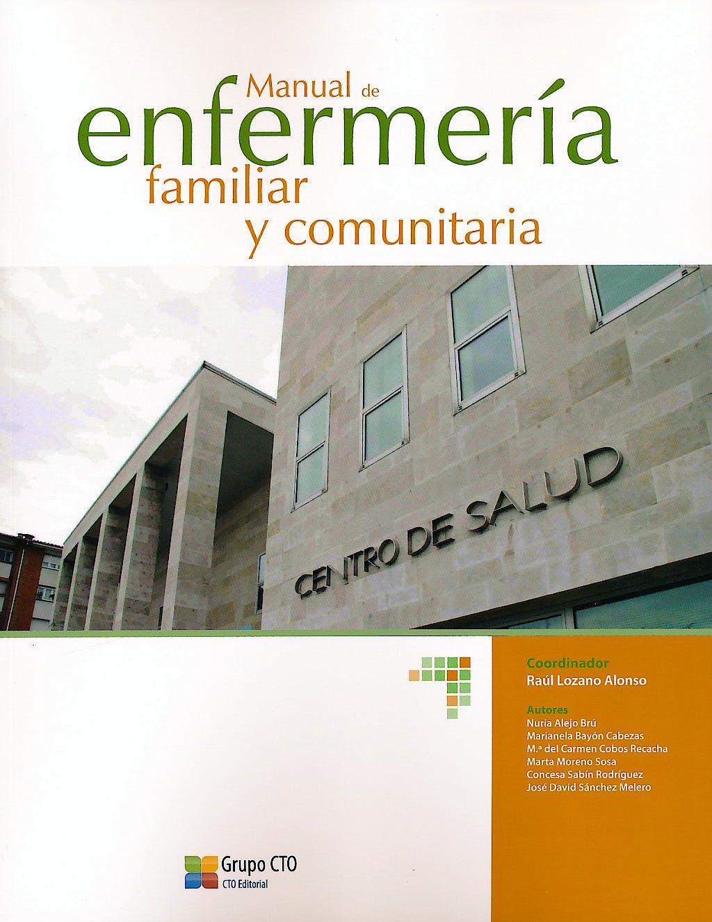 Portada del libro 9788415062899 Manual de Enfermería Familiar y Comunitaria