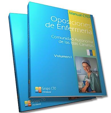 Portada del libro 9788415062929 Manual CTO Oposiciones de Enfermería Comunidad Autonoma de las Islas Canarias, 2 Vols.