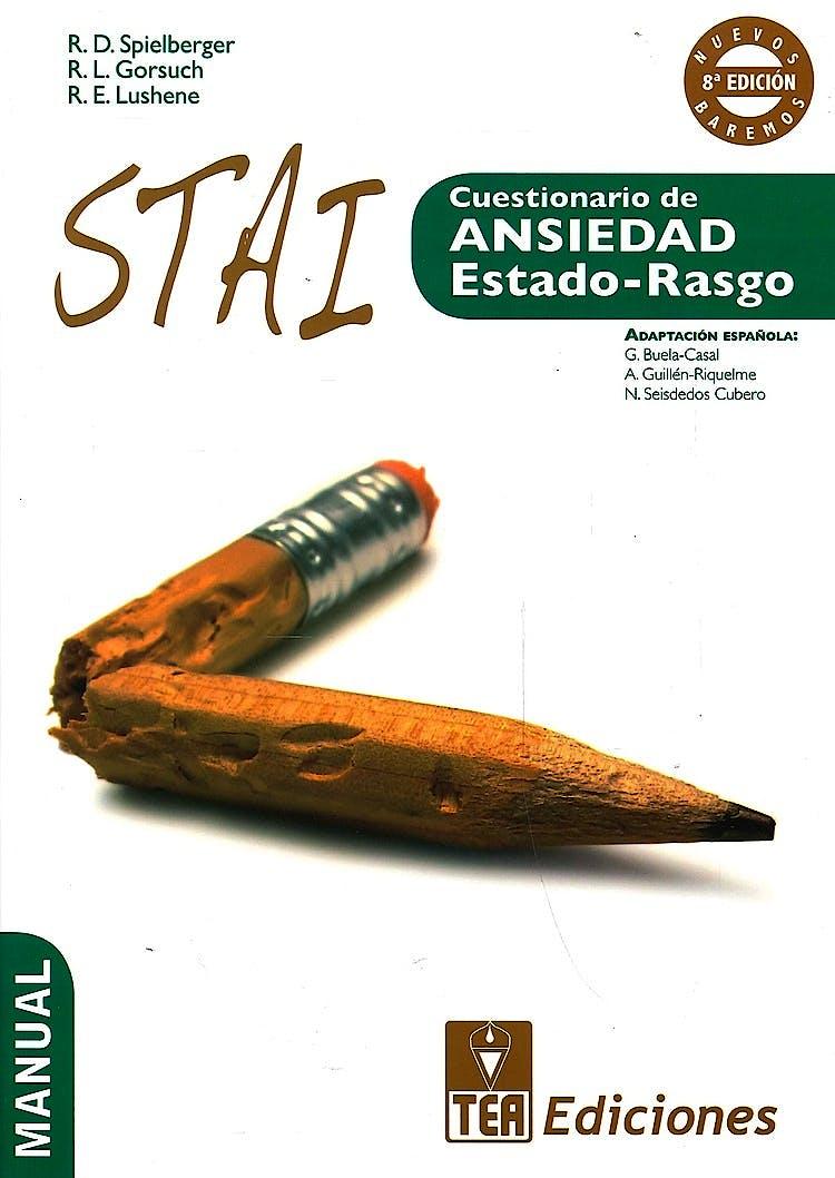 Portada del libro 9788415262268 STAI. Cuestionario de Ansiedad Estado-Rasgo (Juego Completo)