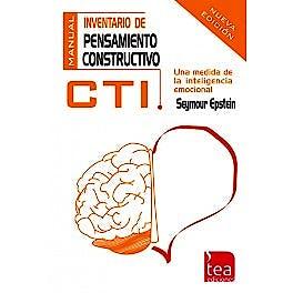 Portada del libro 9788415262503 CTI. Inventario de Pensamiento Constructivo (Una Medida de la Inteligencia Emocional)