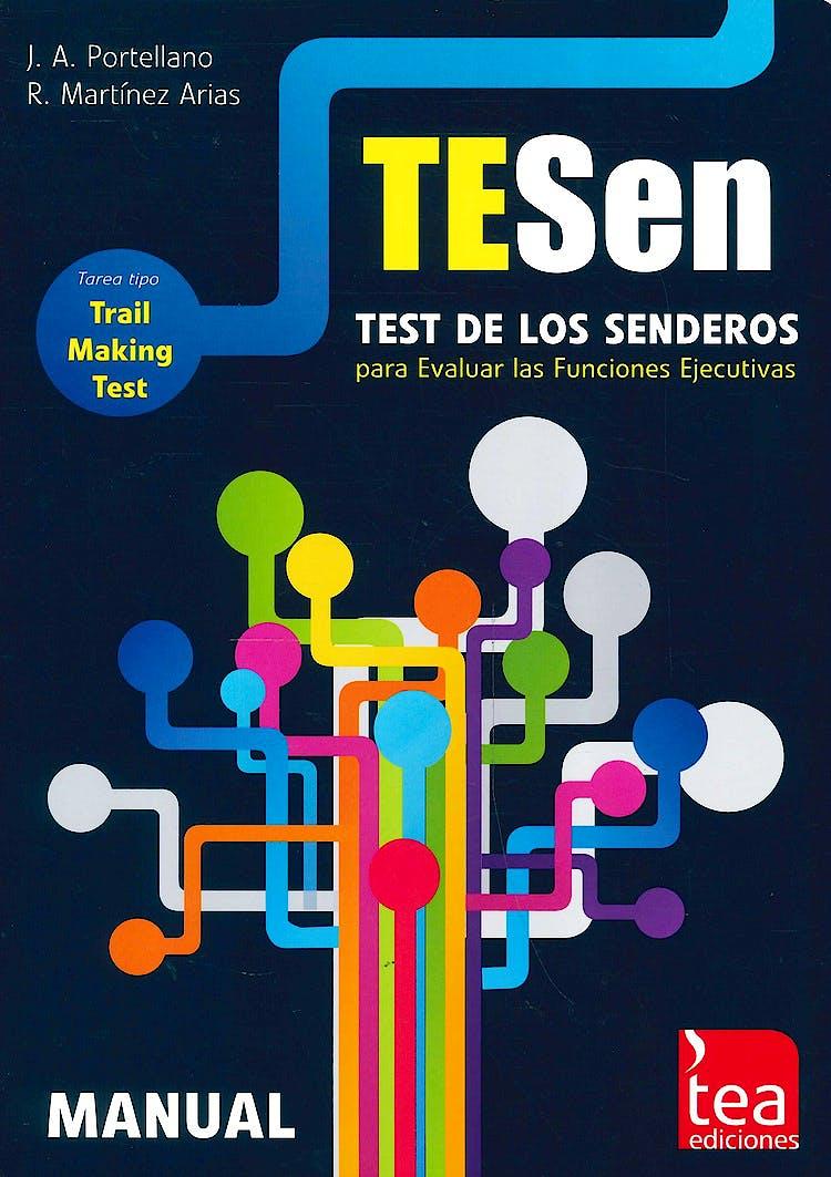 Portada del libro 9788415262961 TESEN Test de los Senderos para Evaluar Funciones Ejecutivas. Juego Completo