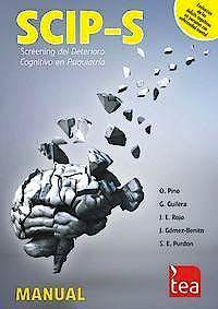 Portada del libro 9788415262992 SCIP-S. Screening del Deterioro Cognitivo en Psiquiatría. Juego Completo (Manual + 25 Ejemplares)