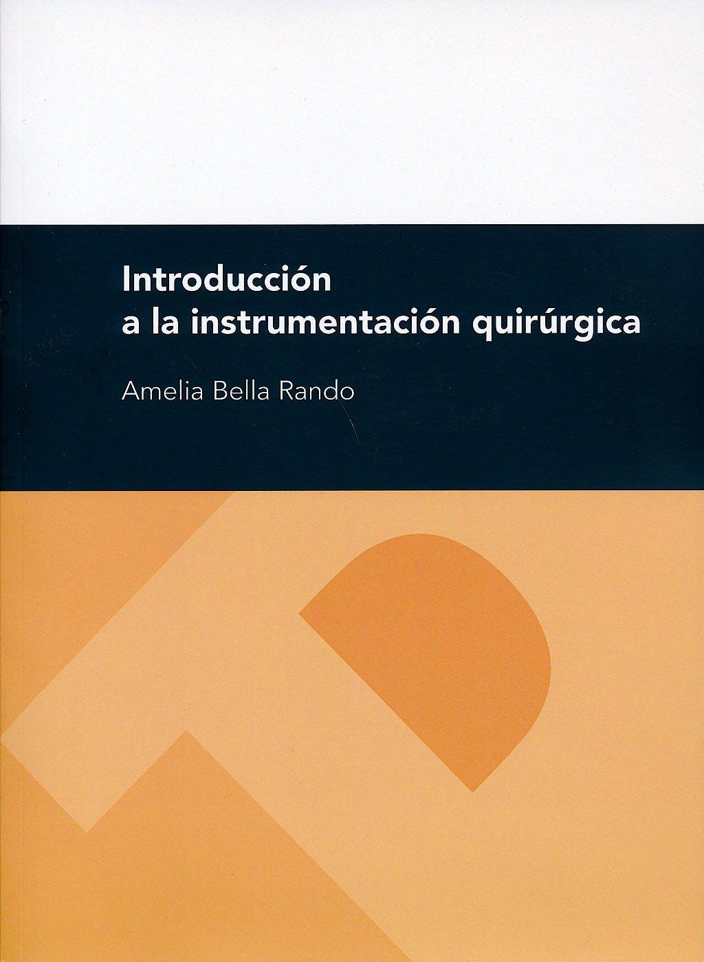 Portada del libro 9788415274650 Introduccion a la Instrumentacion Quirurgica