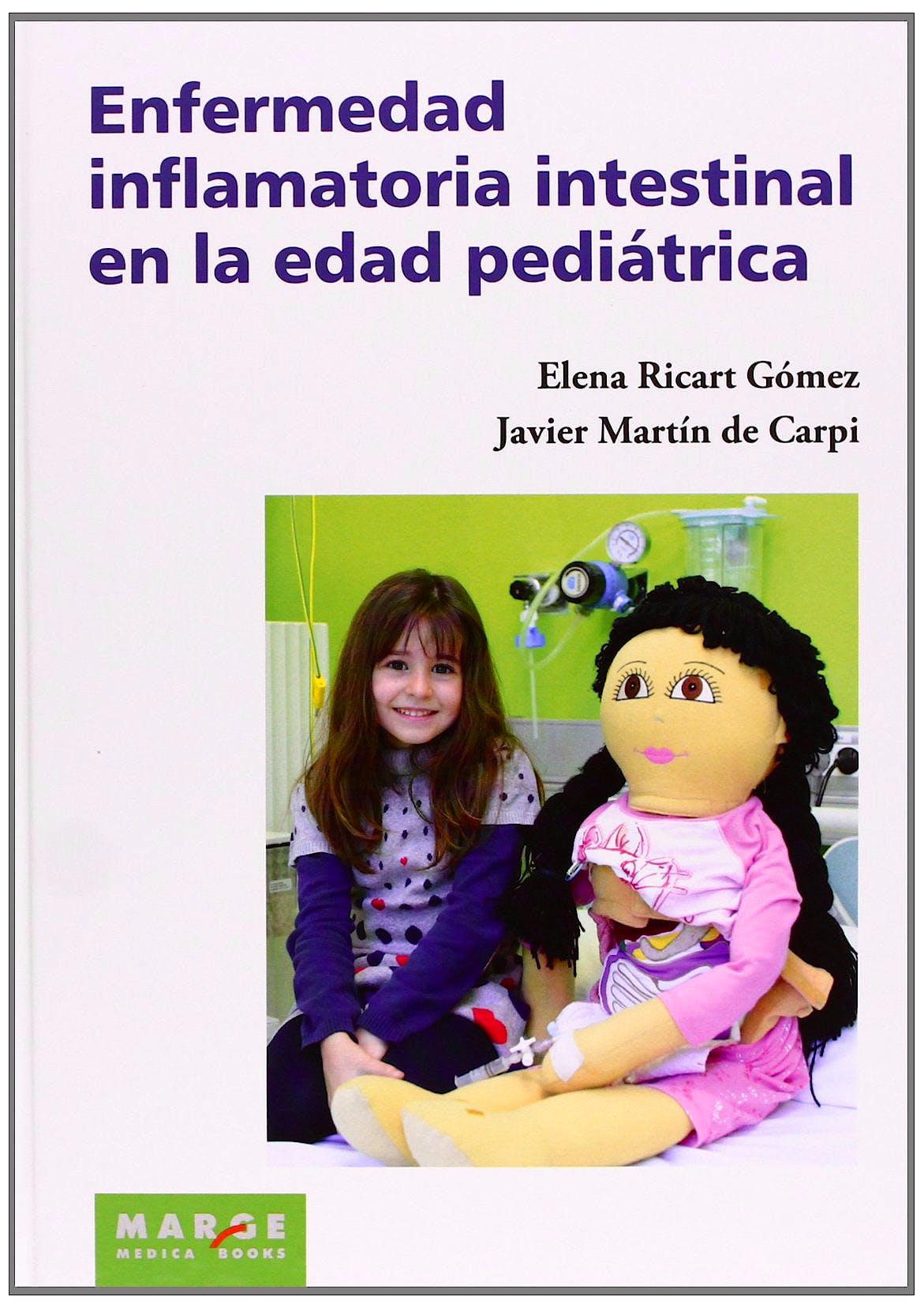 Portada del libro 9788415340683 Enfermedad Inflamatoria Intestinal en la Edad Pediátrica