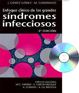 Portada del libro 9788415351429 Enfoque Clinico de los Grandes Sindromes Infecciosos + Cd-Rom