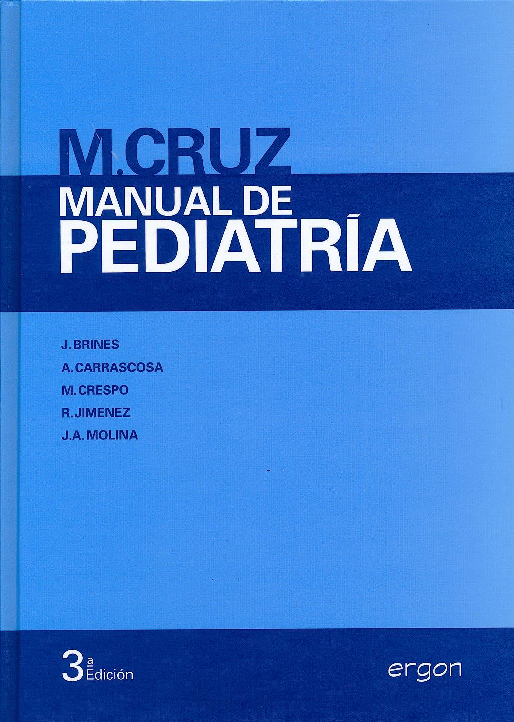 Portada del libro 9788415351573 Manual de Pediatría
