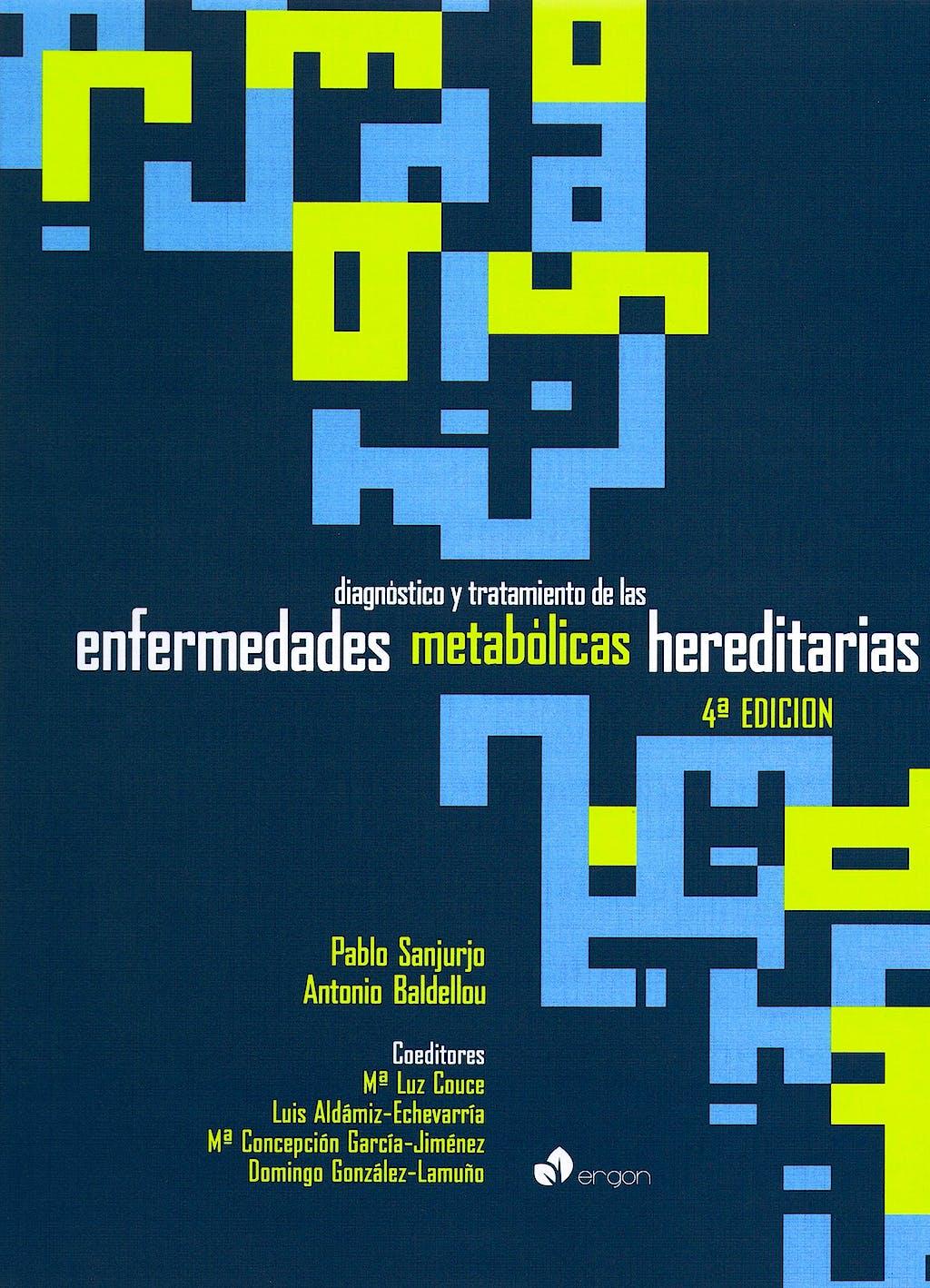 Portada del libro 9788415351962 Diagnóstico y Tratamiento de las Enfermedades Metabólicas Hereditarias