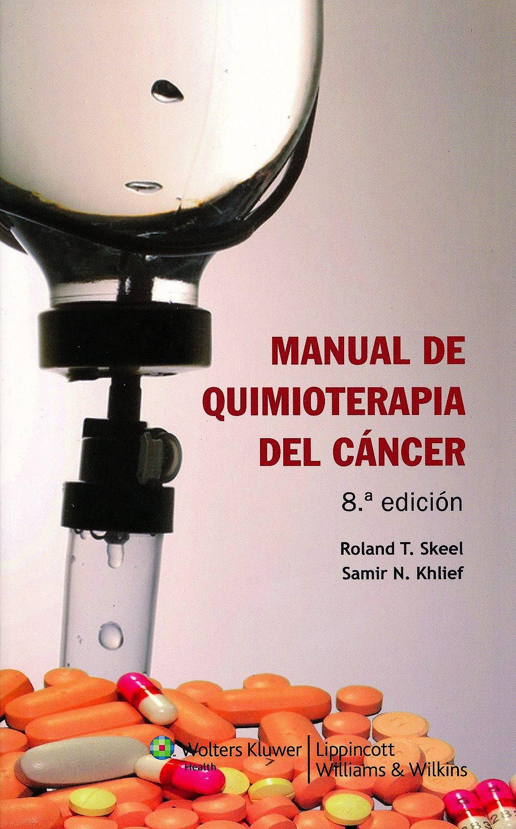 Portada del libro 9788415419549 Manual de Quimioterapia del Cancer