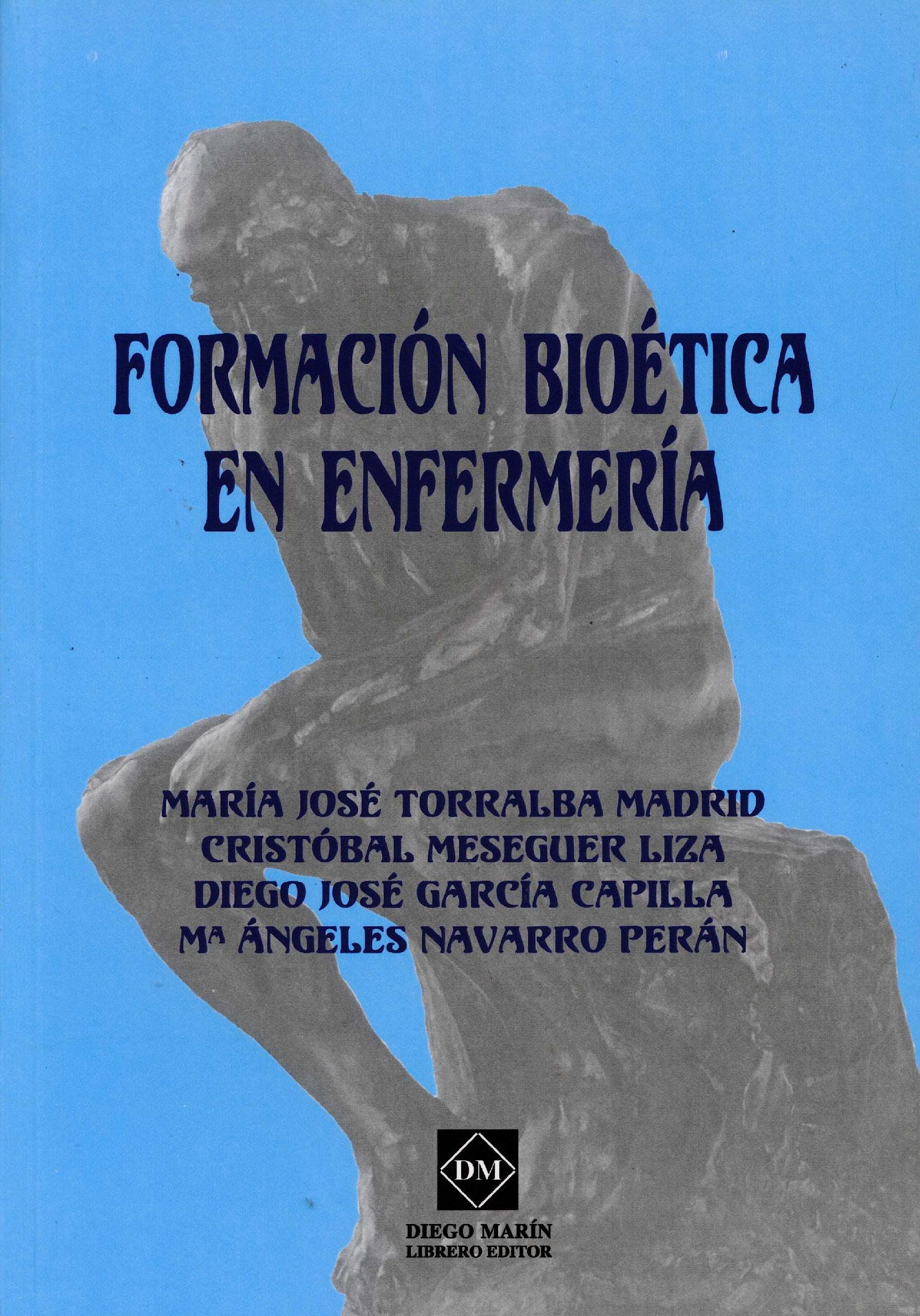 Portada del libro 9788415429760 Formación Bioética en Enfermería