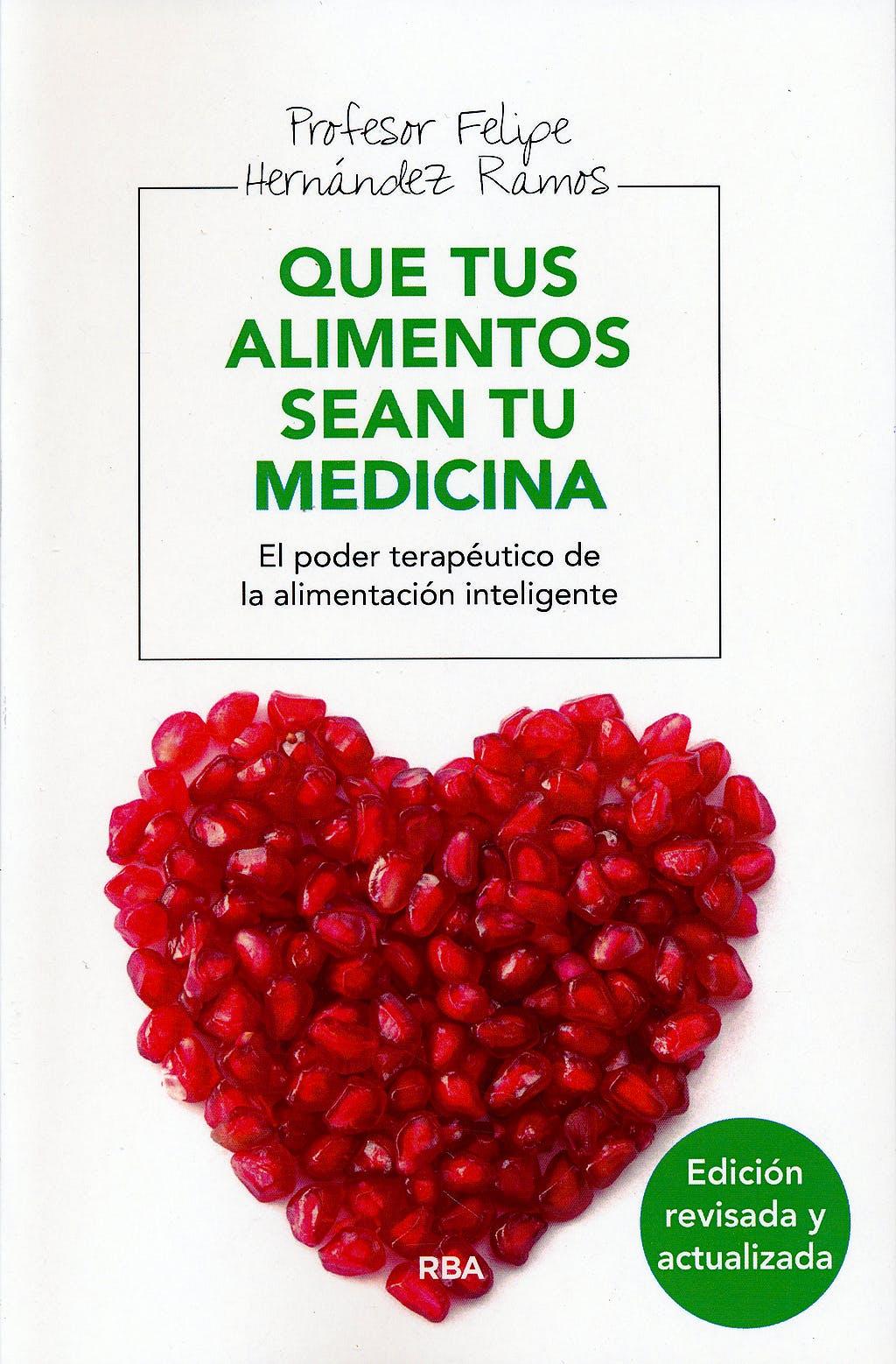 Portada del libro 9788415541059 Que Tus Alimentos Sean Tu Medicina