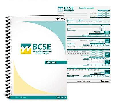 Portada del libro 9788415552994 BCSE Test Breve para la Evaluación del Estado Cognitivo. Manual/Cuaderno de Estímulos