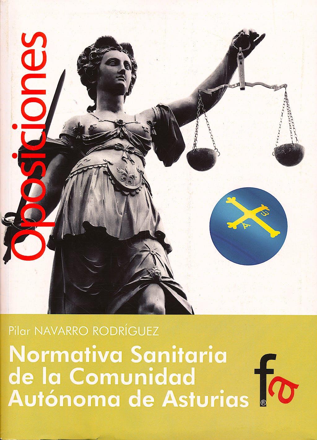 Portada del libro 9788415796688 Normativa Sanitaria de la Comunidad Autonoma de Asturias