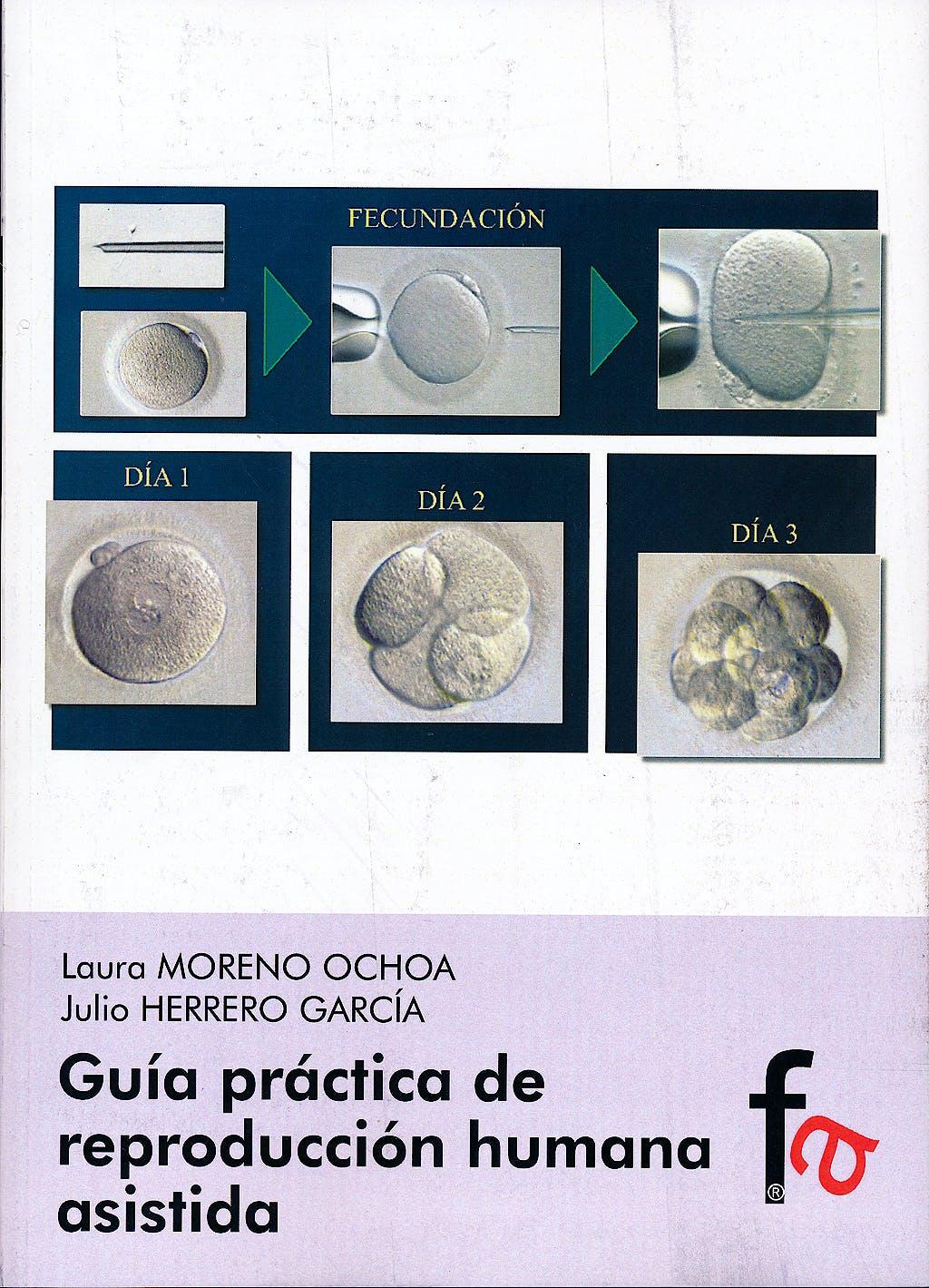 Portada del libro 9788415822516 Guia Practica de Reproduccion Humana Asistida
