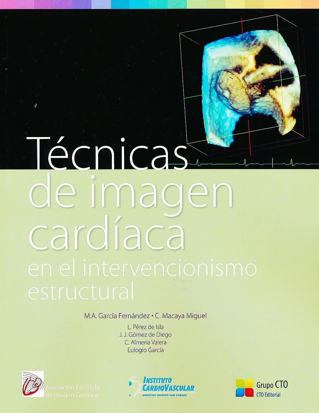 Portada del libro 9788415865889 Técnicas de Imagen Cardíaca en el Intervencionismo Estructural