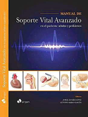 Portada del libro 9788415950073 Manual de Soporte Vital Avanzado en el Paciente Adulto y Pediátrico