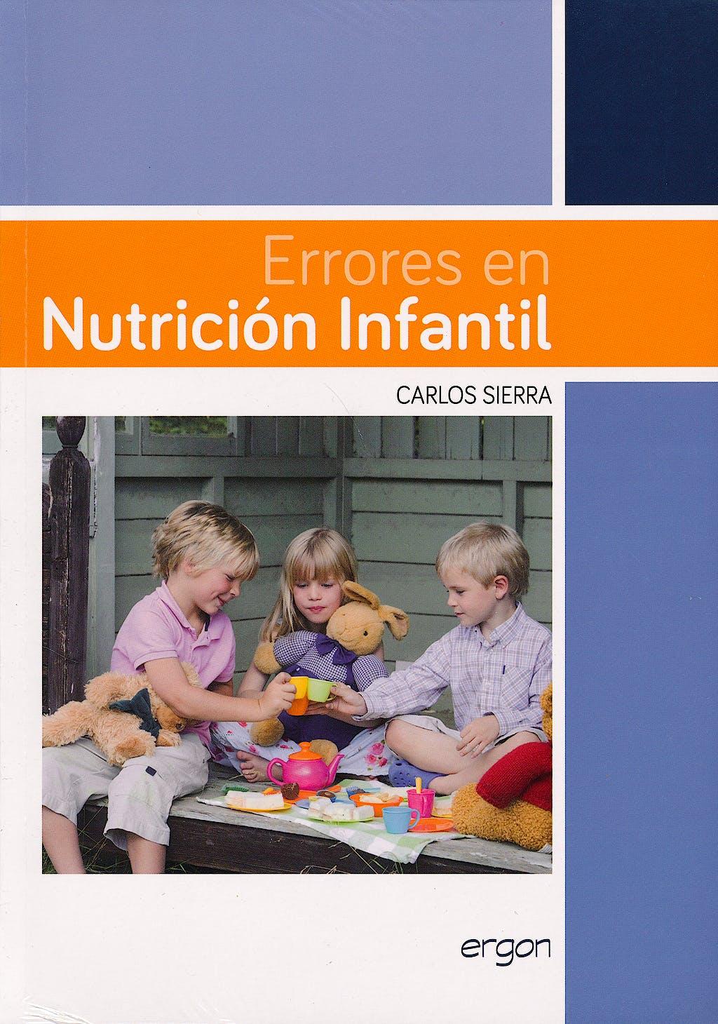 Portada del libro 9788415950158 Errores en Nutricion Infantil