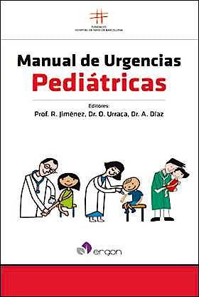 Portada del libro 9788415950691 Manual de Urgencias Pediátricas (Fundació Hospital de Nens de Barcelona)