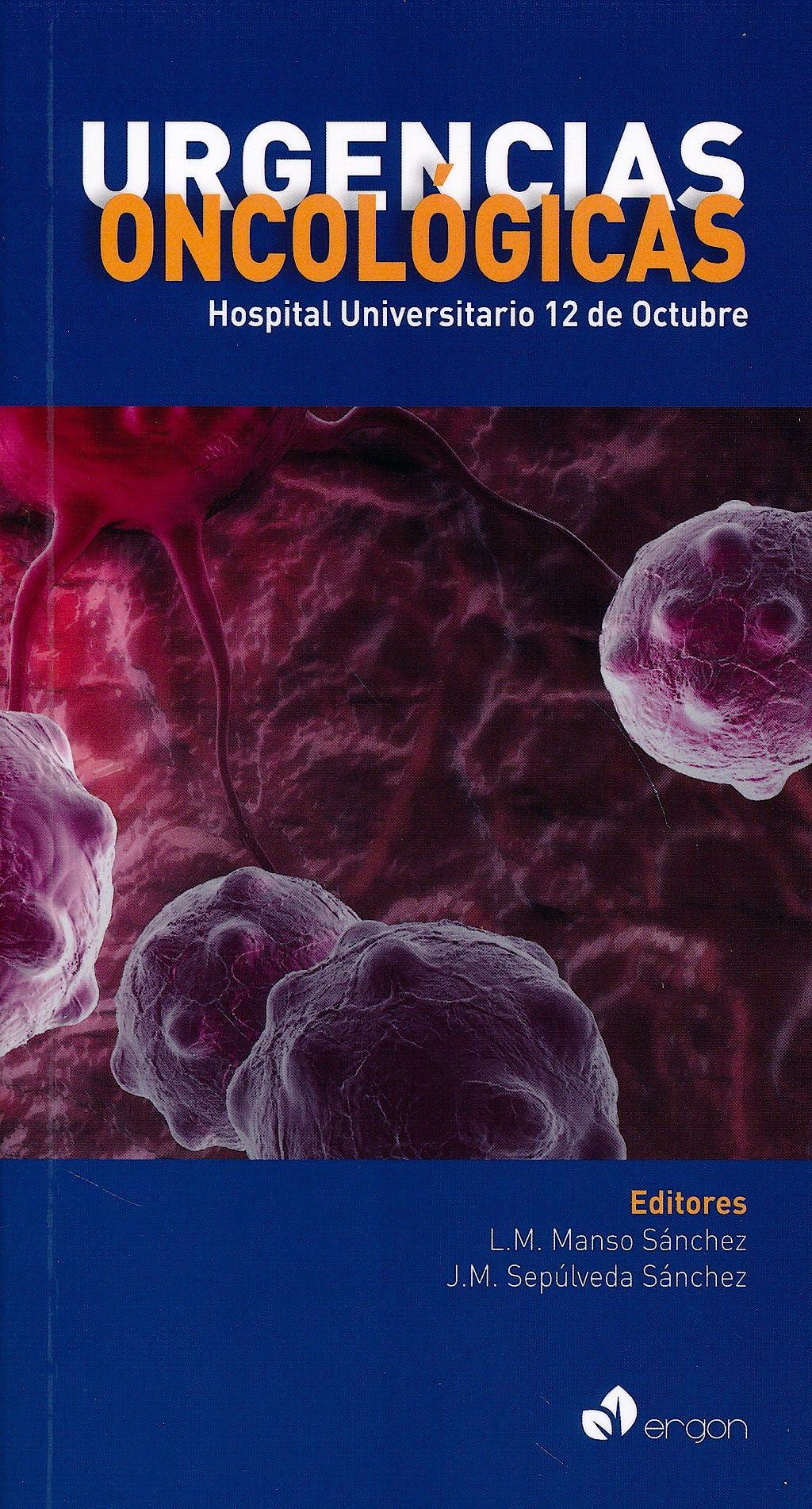 Portada del libro 9788415950998 Urgencias Oncológicas Hospital Universitario 12 de Octubre