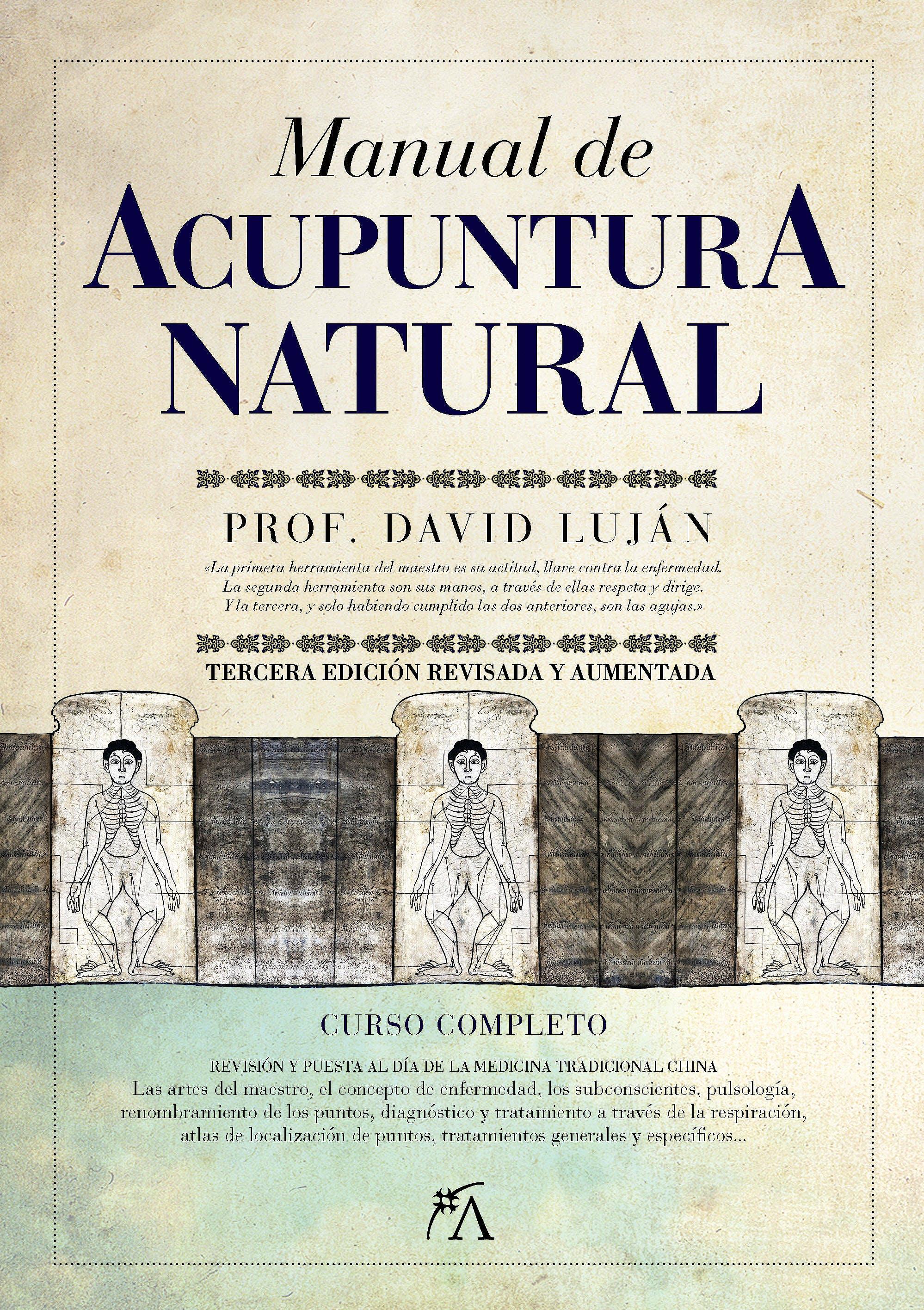 Portada del libro 9788416002757 Manual de Acupuntura Natural. Curso Completo
