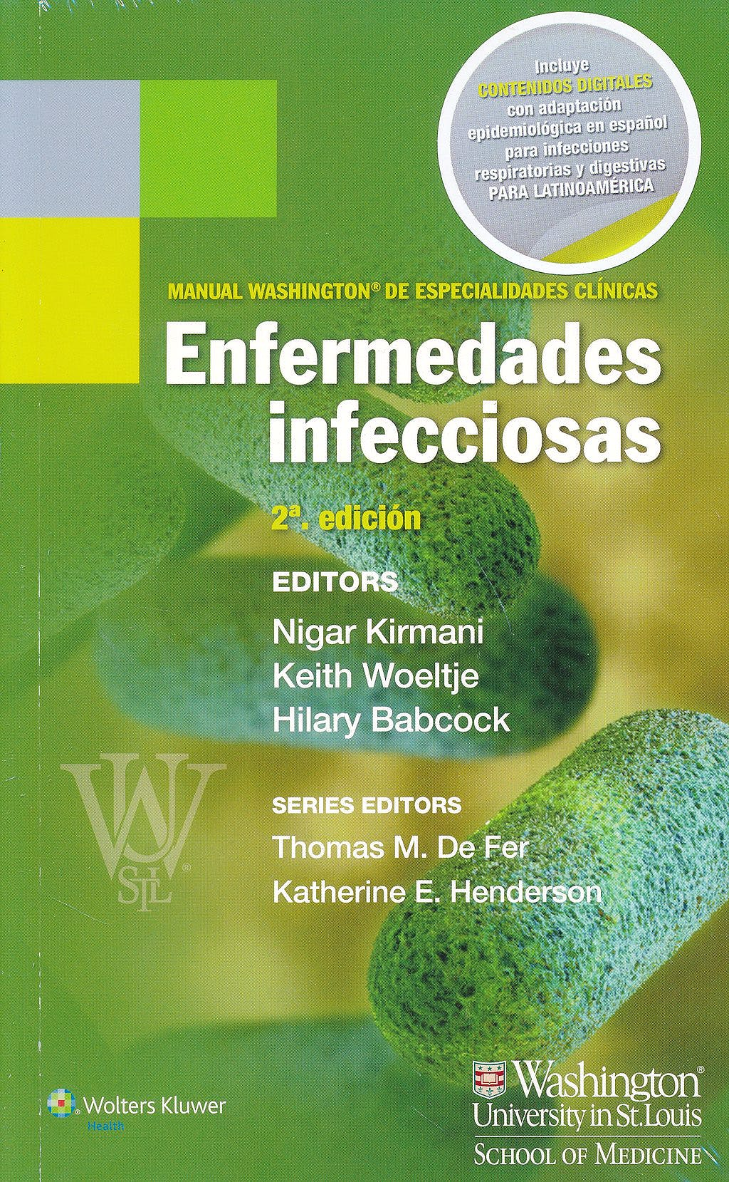 Portada del libro 9788416004065 Manual Washington de Especialidades Clinicas: Enfermedades Infecciosas