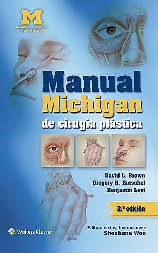 Portada del libro 9788416004140 Manual Michigan de Cirugía Plástica