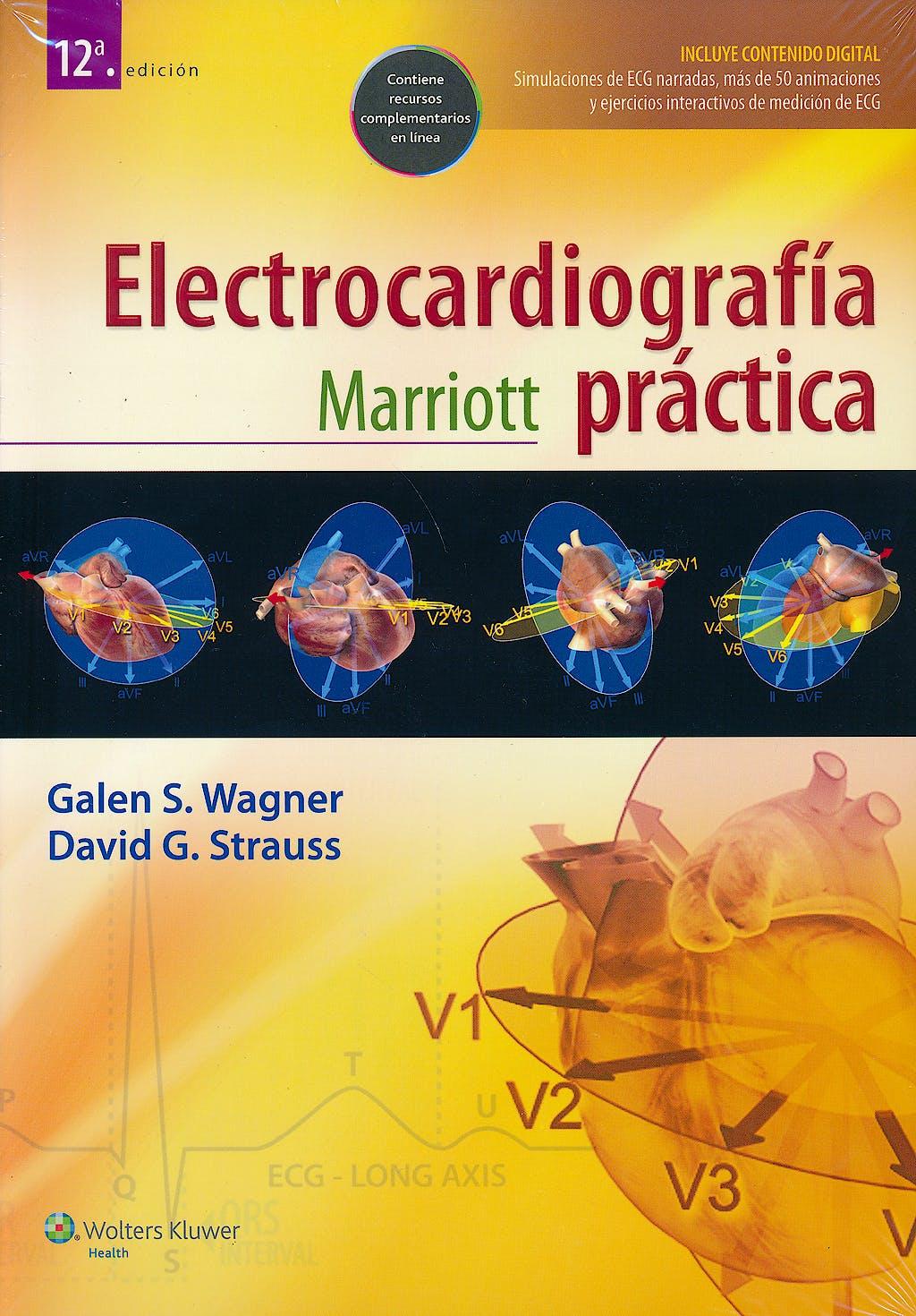 Portada del libro 9788416004201 Marriott Electrocardiografía Práctica + Acceso Online