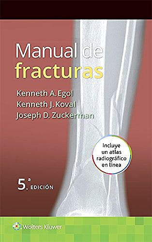 Portada del libro 9788416004829 Manual de Fracturas