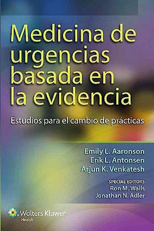 Portada del libro 9788416004836 Medicina de Urgencias Basada en la Evidencia. Estudios para el Cambio de Prácticas