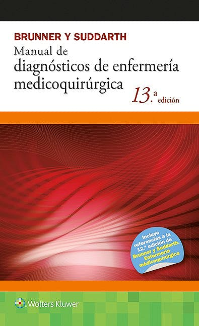 Portada del libro 9788416004850 Brunner y Suddarth Manual de Diagnosticos de Enfermeria Medicoquirurgica
