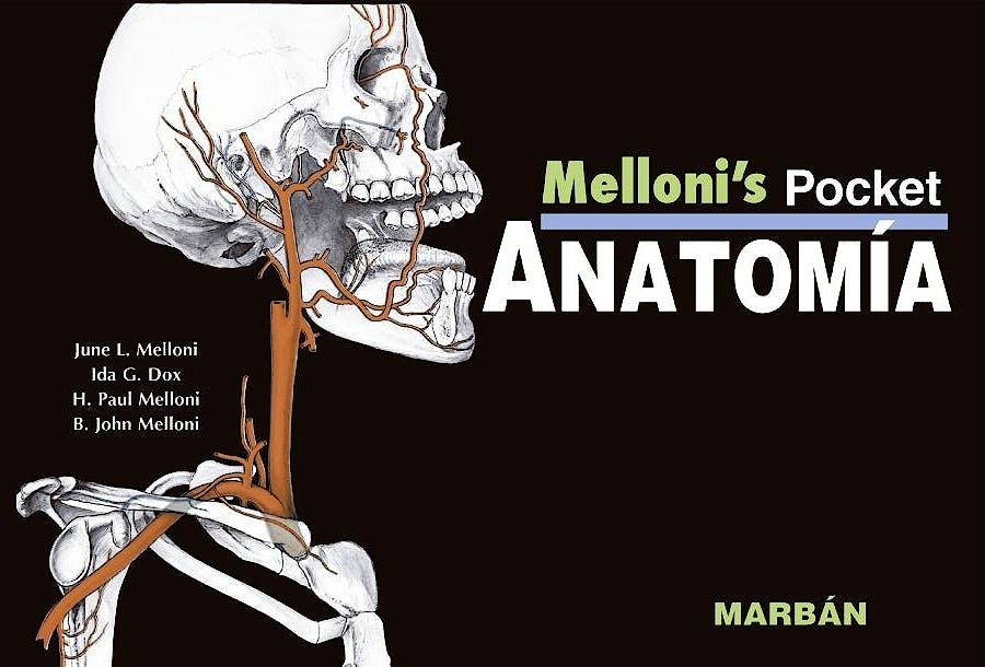 Portada del libro 9788416042135 Melloni's Pocket Anatomía