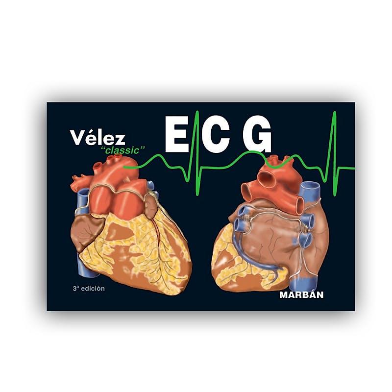 Portada del libro 9788416042418 ECG Electrocardiografía (Edición Pequeño)