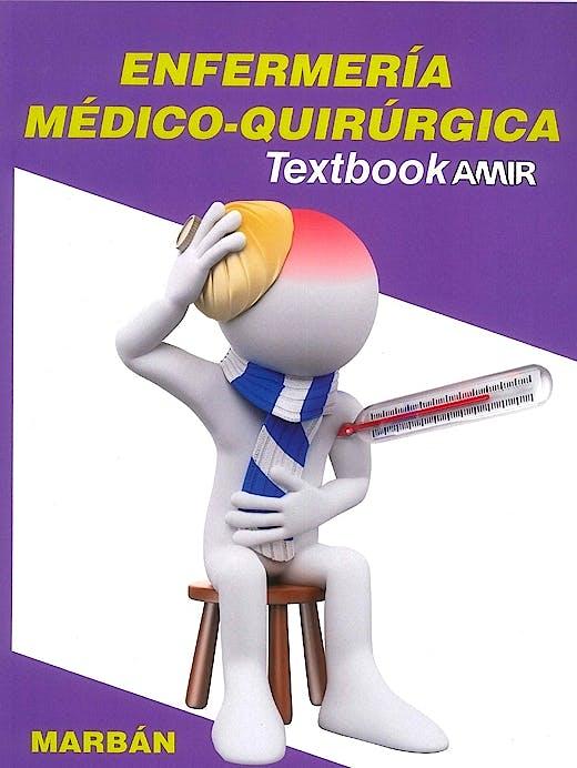 Portada del libro 9788416042852 Textbook AMIR Enfermería, Vol. 1: Médico-Quirúrgica