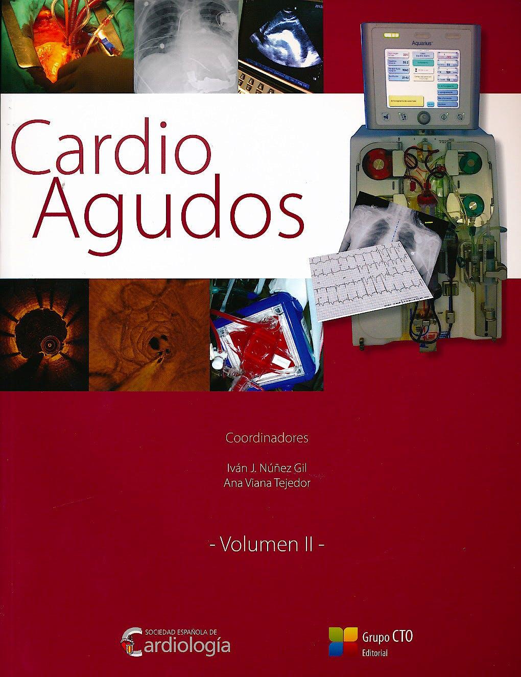 Portada del libro 9788416153862 Cardio Agudos, 2 Vols.