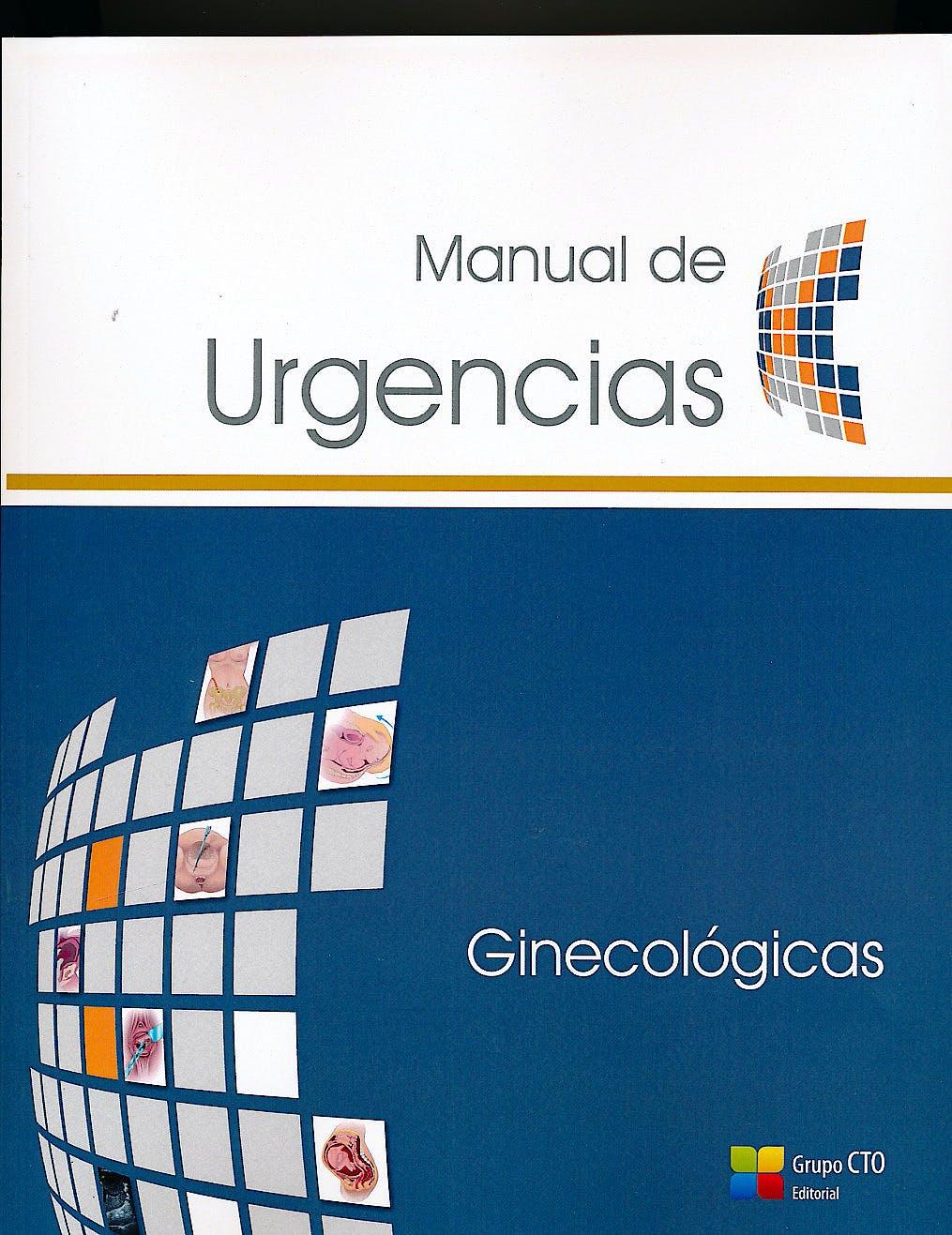 Portada del libro 9788416153954 Manual de Urgencias: Ginecologicas