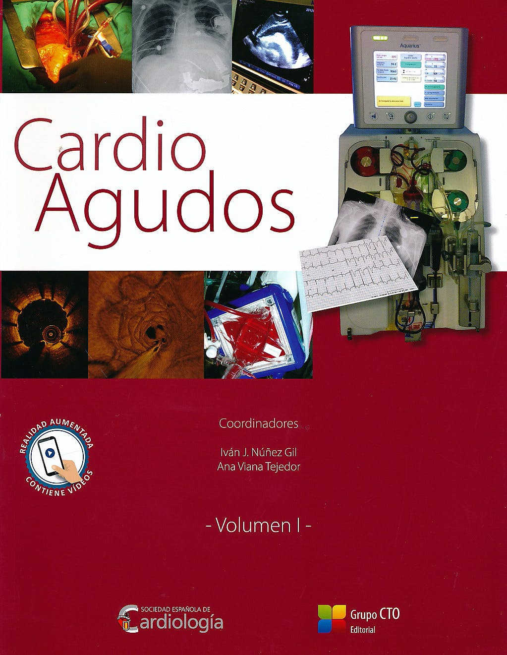 Portada del libro 9788416153985 Cardio Agudos, Vol. I