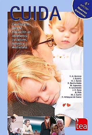 Portada del libro 9788416231034 CUIDA. Cuestionario para la Evaluación de Adoptantes, Cuidadores, Tutores y Mediadores (Juego Completo)
