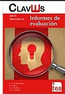 Portada del libro 9788416231102 Claves para la Elaboración de Informes de Evaluación