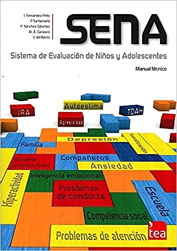 Portada del libro 9788416231171 SENA. Sistema de Evaluación de Niños y Adolescentes (b) Juego Completo Ref. 2Q800