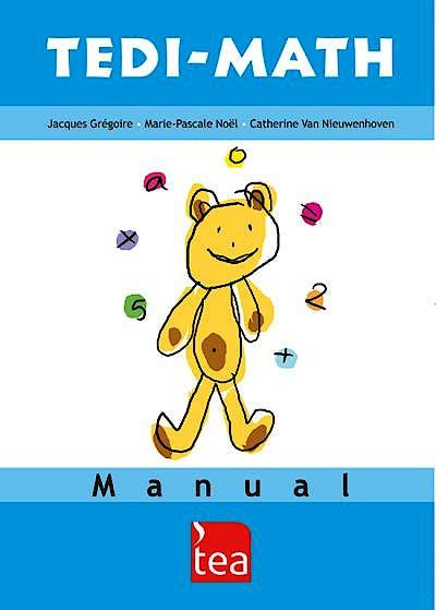 Portada del libro 9788416231201 Tedi-Math. Juego completo (Manual, 25 Cuadernillos de anotación, Cuadernos de estímulos A-B-C, Material manipulativo)