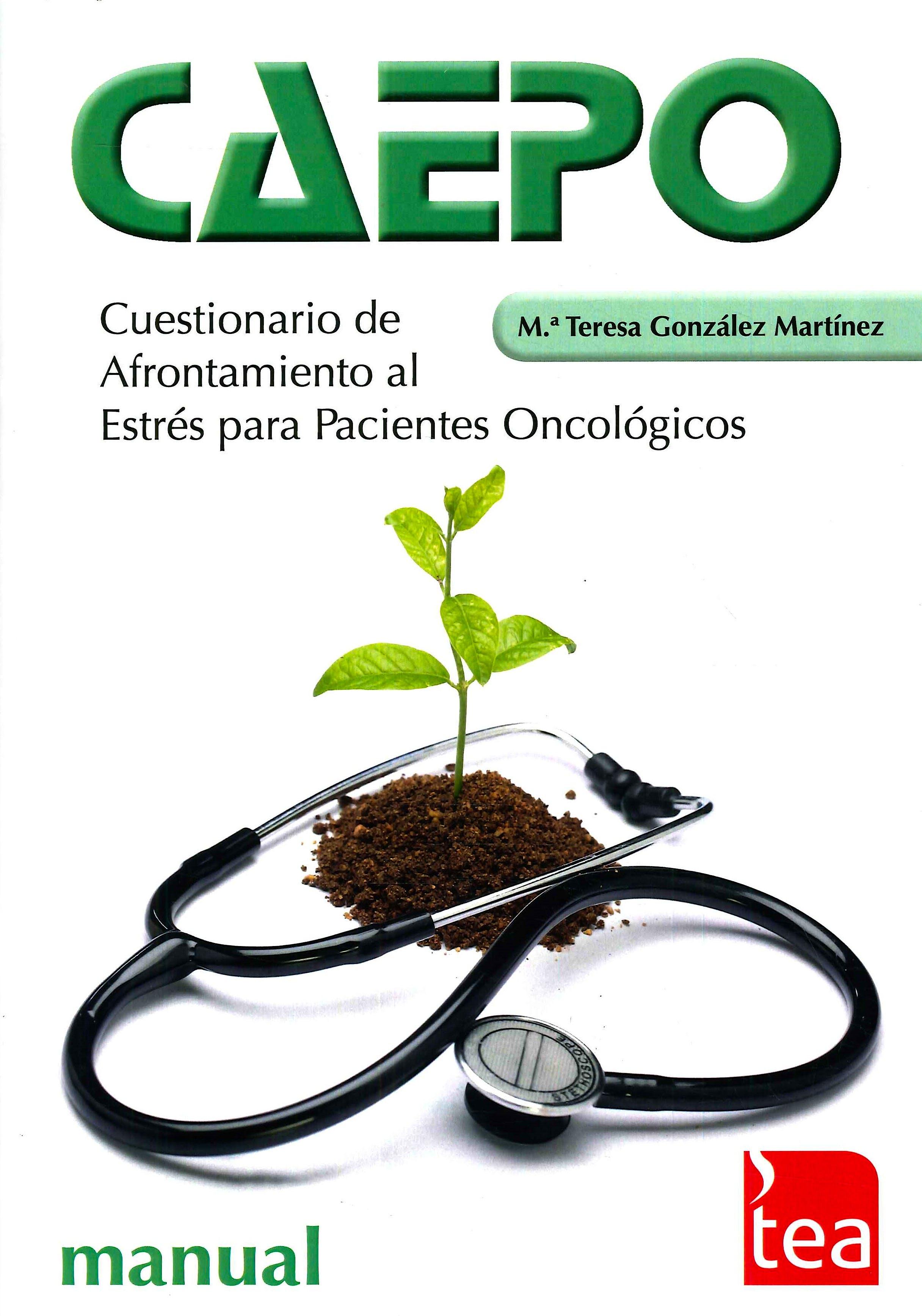 Portada del libro 9788416231225 CAEPO. Cuestionario de Afrontamiento al Estrés para Pacientes Oncológicos. Juego Completo