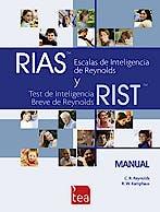 Portada del libro 9788416231355 RIAS. Juego Completo  (Test para Valoración de Retaso Psicomotor)