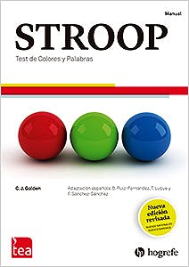 Portada del libro 9788416231782 STROOP. Test de Colores y Palabras Nueva Edición Revisada. Juego Completo (Manual, 10 Cuadernillos, Kit Corrección 25 Usos)