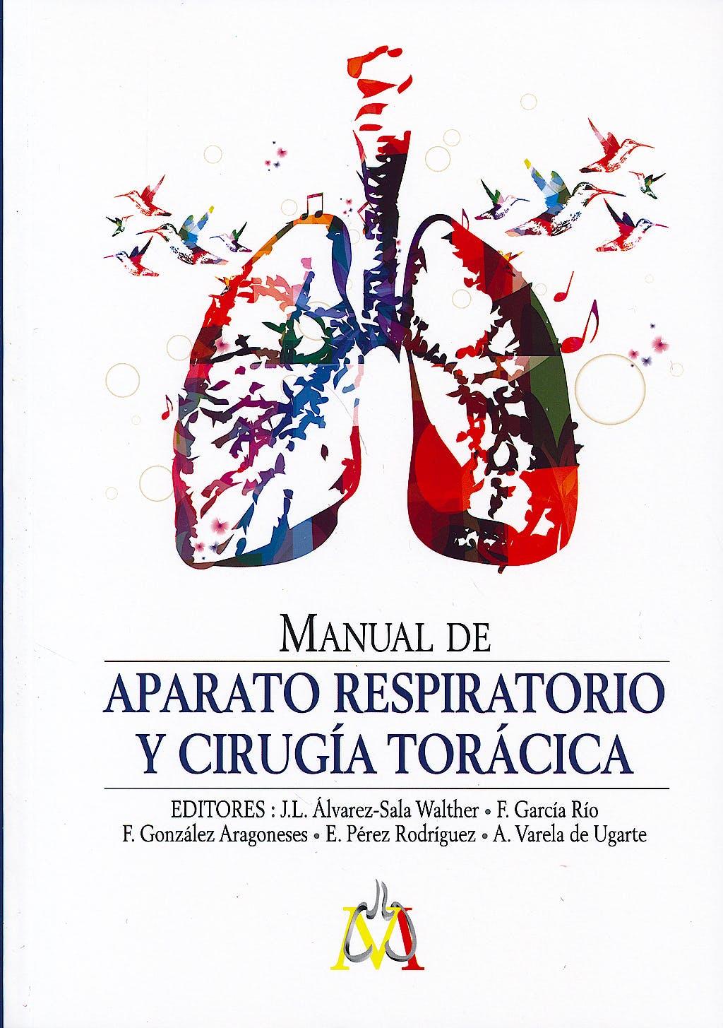 Portada del libro 9788416270019 Manual de Aparato Respiratorio y Cirugía Torácica