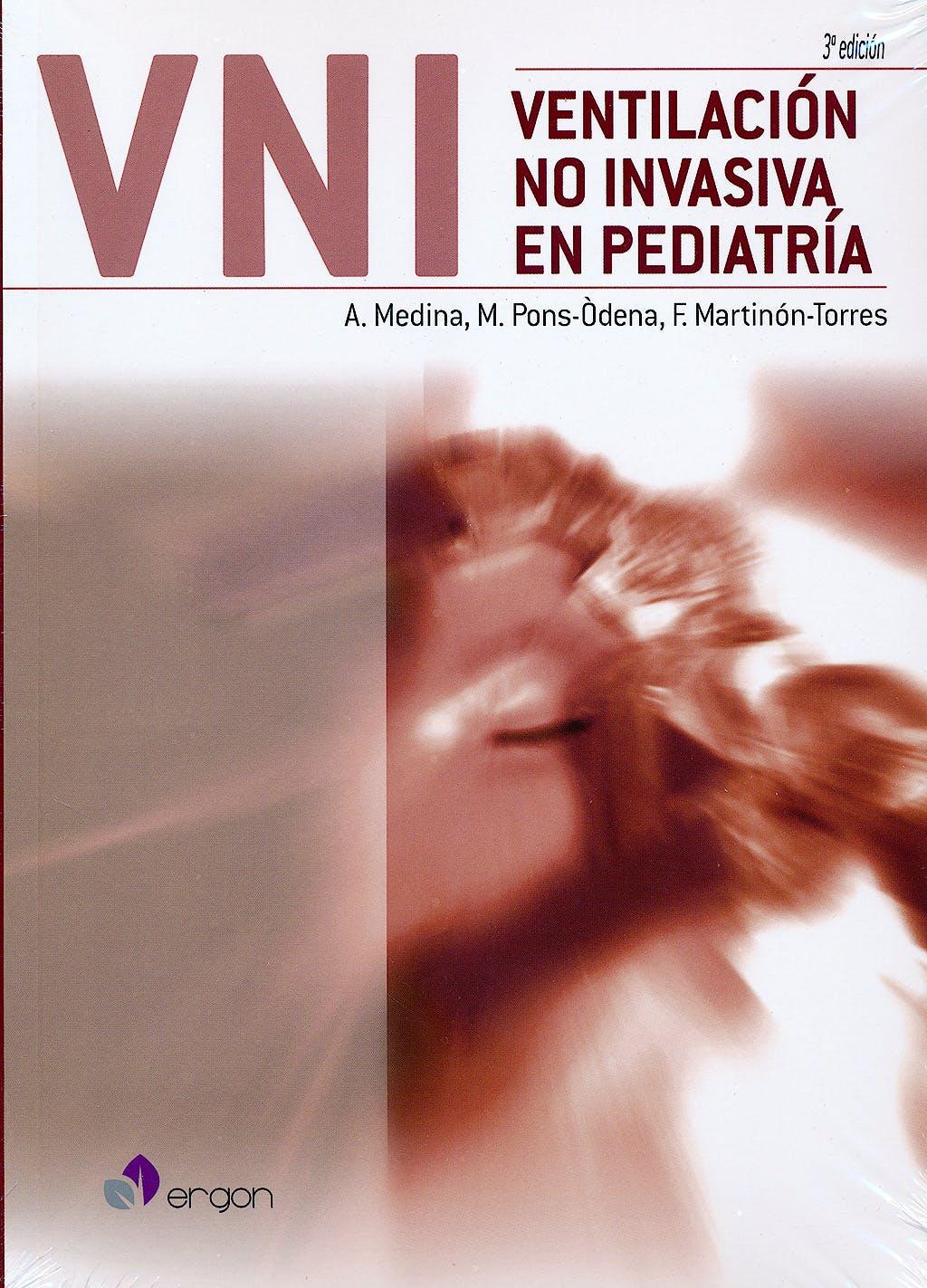Portada del libro 9788416270309 Ventilacion no Invasiva en Pediatria